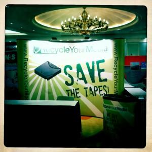 Recycle Your Media Booth E-Scrap Orlando
