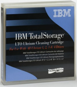 ibm lto cleaning21 268x300 IBM 'Big Data' Storage Product Line Solidifies Tapes Future