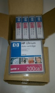Finished Refurbished LTO Tape Media for Redeployment